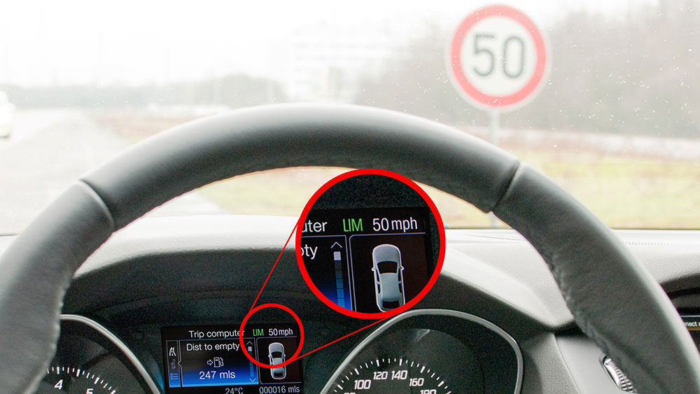 Limitarea automată a vitezei