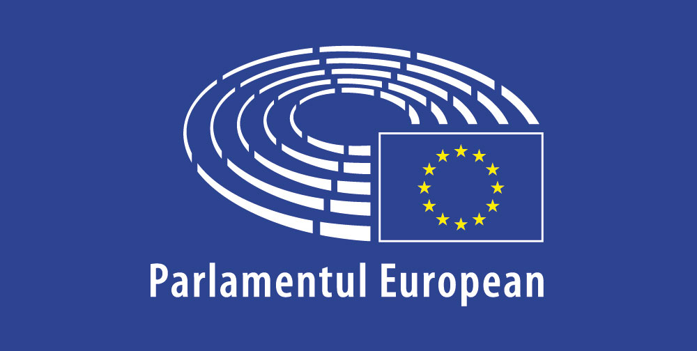 Parlamentul european logo albastru