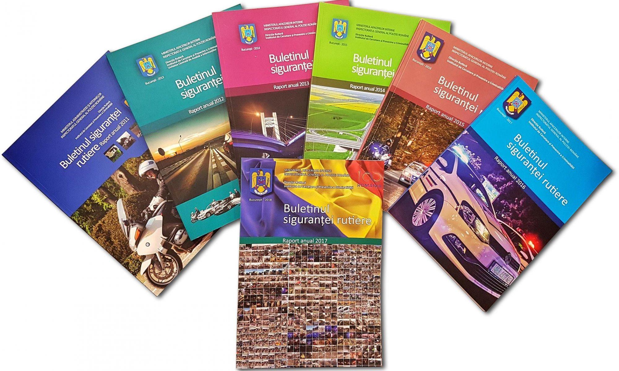 Buletinul Sigurantei Rutiere 2011-2017